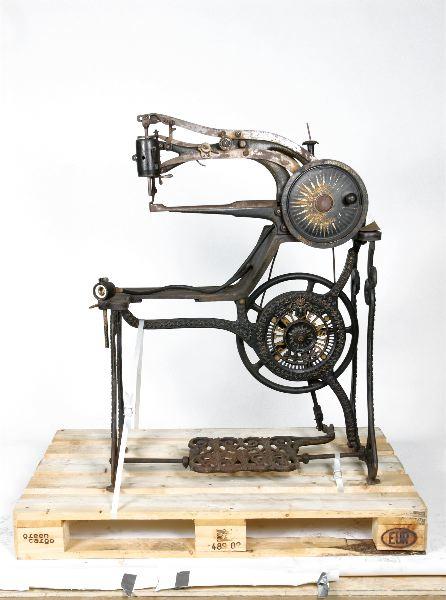 symaskin för skinn